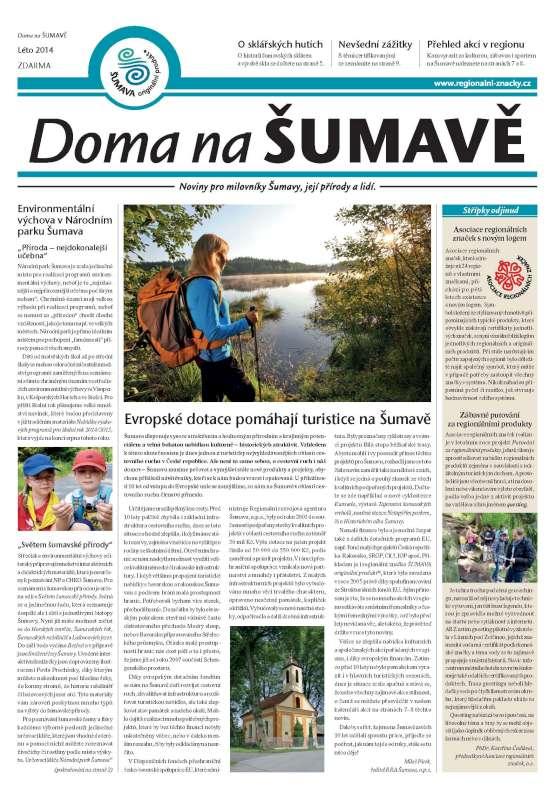 Šumavský výletník červen 2014
